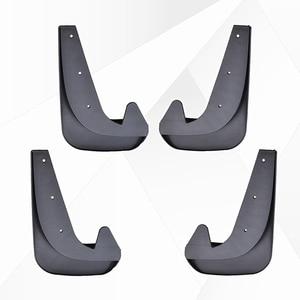 Image 3 - 4 個ユニバーサル泥フラップmudflapsスプラッシュガードマッドガードの場合は前面背面ボルボC30 S40 S60 S70 S80 V40 V50 v60 V70 XC70 XC90