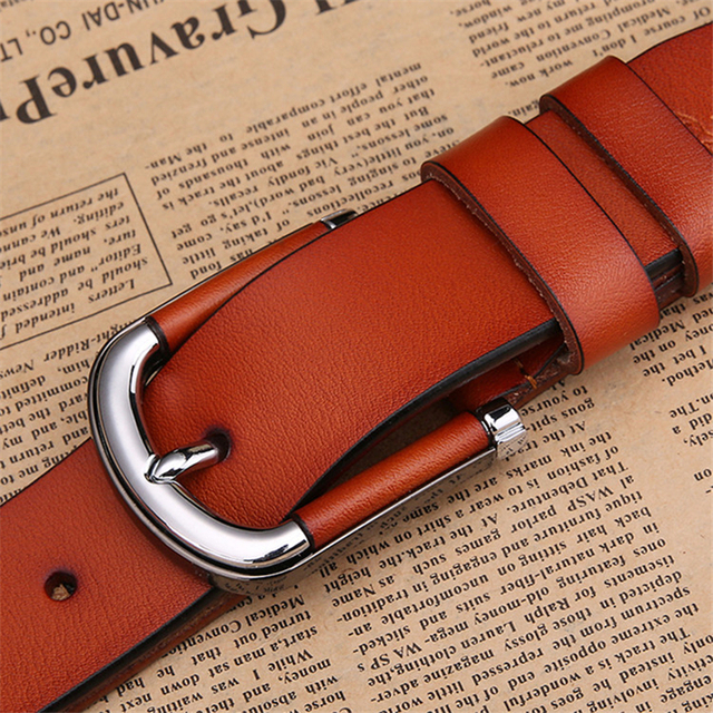 2017 Top Cow genuine leather belts for men alloy buckle vintage Handcrafted mens luxury belt men ceinture homme free shipping