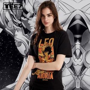Image 2 - TEE7 ファッションクラシックアニメ聖闘士星矢 tシャツ男性女性プリント 3d tシャツストリートユニセックスファッションスタイル夏のトップス tシャツシャツ