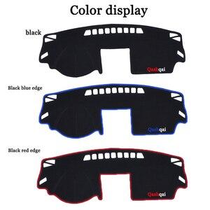 Image 2 - Evitar A luz do Painel Do carro instrumento Pad Cover Secretária Plataforma Mats Tapetes Para Nissan Qashqai 2008 2015 interior Automotivo