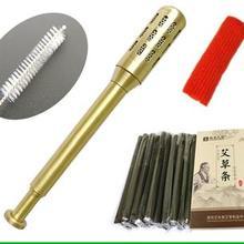 Чистая медь теплая прижигание палочка для прижигания карандаш для лица красота прижигание инструмент Маленький Средний Размер 7 мм бездымный м