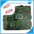 ГОРЯЧИЕ ноутбука материнская плата для ASUS k55VD K55A Maindboard Набора 60-N89MB1301-A05 интегрированы DDR3 полный испытано бесплатная доставка