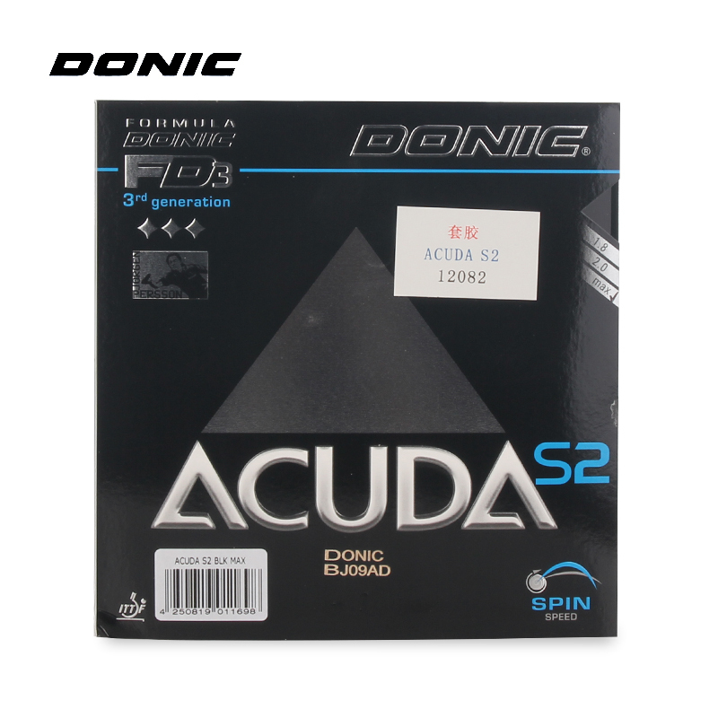 Donic ACUDA S2 Pips inTable Tennis Rubber Ping Pong Pimples in With Sponge Tenis De Mesa-in Table Tennis Rackets from Sports & Entertainment    1