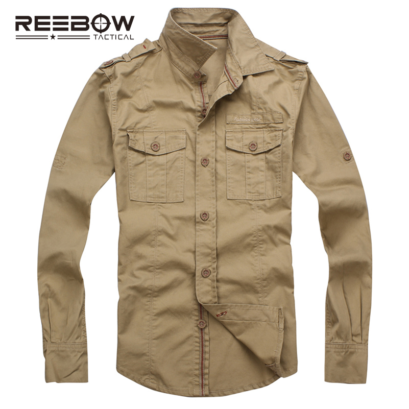 REEBOW TACTICAL Men Autumn Military Outdoor Hiking Shirts Long Sleeve - Sportswear and Accessories - Photo 2