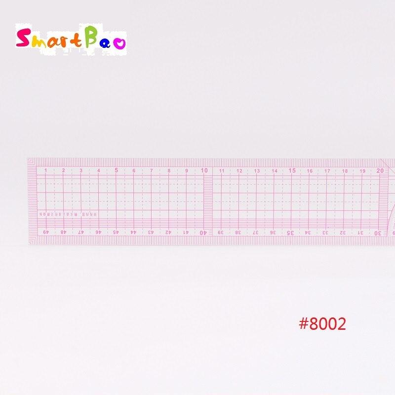 50cm Garment Ruler METRIC Fashion Design Grading Ruler Metric With Grid 2Pcs/Lot  #8002