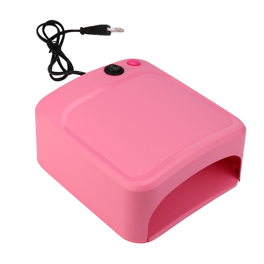New Arrival 1PC Brand 36W UV Lamp Light Nail Dryer Manicure Gel With Timer Portable Pro Nail Art Design Tool Pretty High Quality