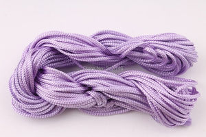Image 2 - Wholesale 40 Roll Assorted Color 1mm 1.5mm Macrame Beading Rattail Braided Nylon Cords Kumihimo String Thread for Jewelry Making