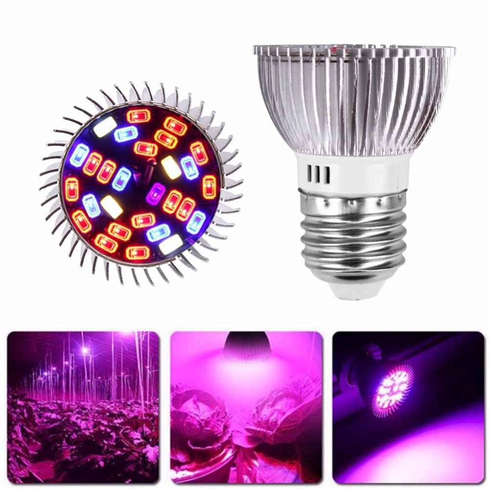 Полный спектр cfl светодиодный светать лампада E27 E14 MR16 GU10 лампа внутреннего освещения для теплиц цветущие растения Гидропоника Системы ИК УФ сад 110 V 220 V
