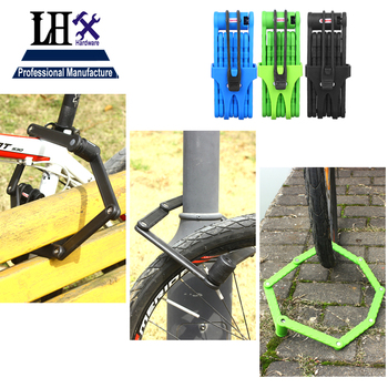 LHX Shape Lock Padlock for Bike Motorcycle Dress Door Home Gate Hardware DIY Anti-theft