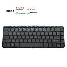 الولايات المتحدة الإنجليزية لوحة المفاتيح مع الإطار ل جناح HP 14 r107nv 14 r020tx 14 r202nv 14 r022la