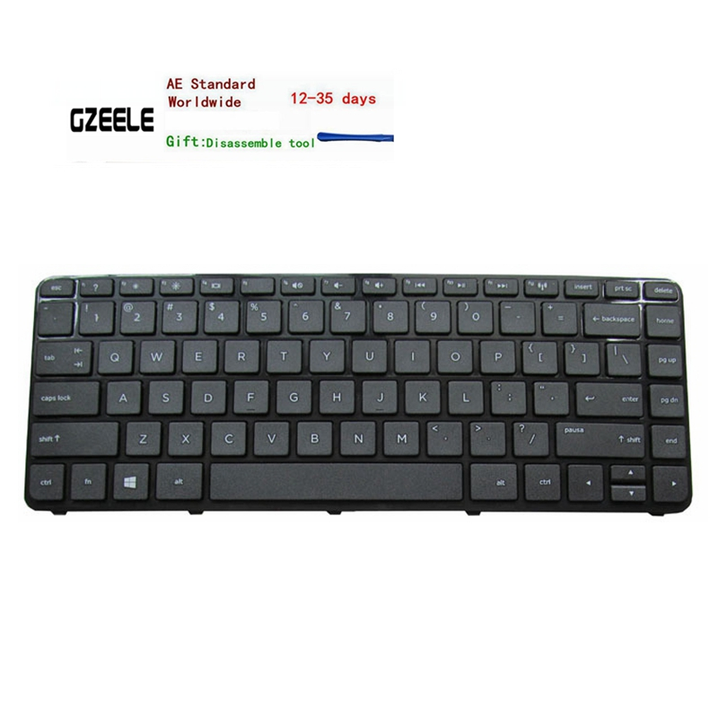 US English Keyboard With Frame For HP Pavilion 14-r107nv 14-r020tx 14-r202nv 14-r022la