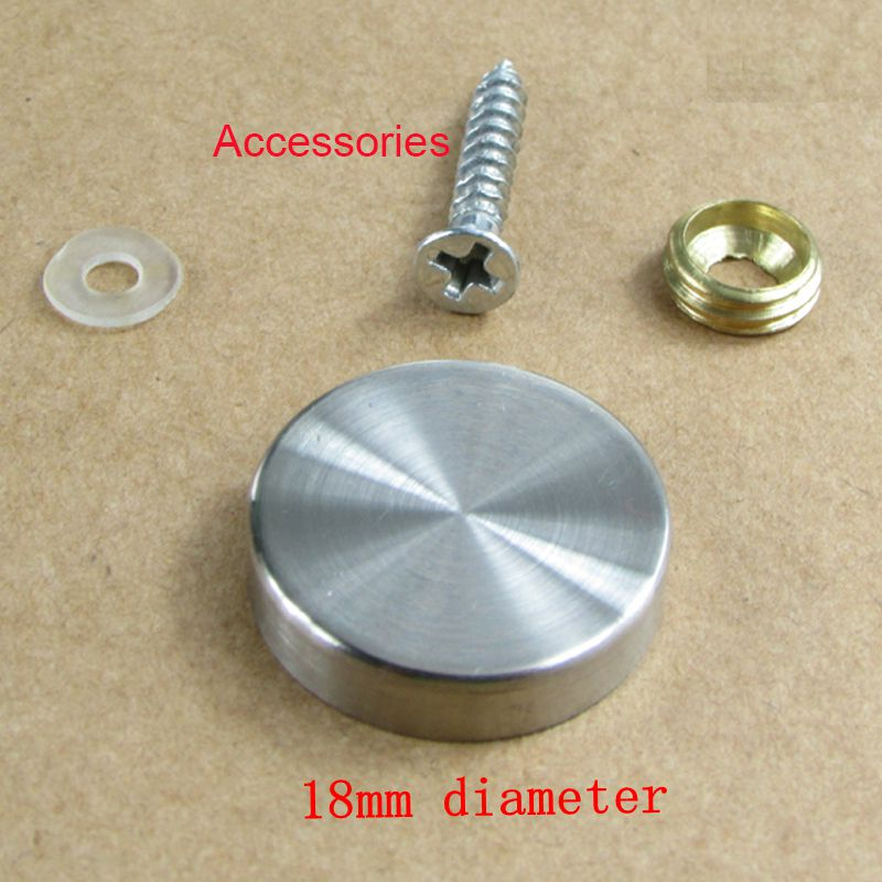 20pcs 18mm diameter stainless steel standoff screw cover. Black Bedroom Furniture Sets. Home Design Ideas