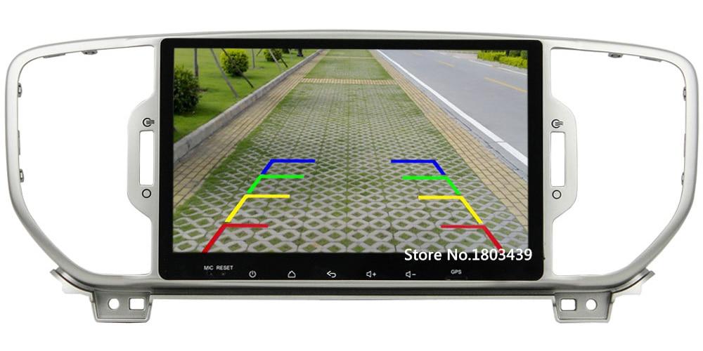 Android 6.0.1 Octa Core 2GB RAM 2din 12V Bluetooth GPS Navigation DVD Car Radio Player Stereo FM MP3 For Kia Sportage 2016