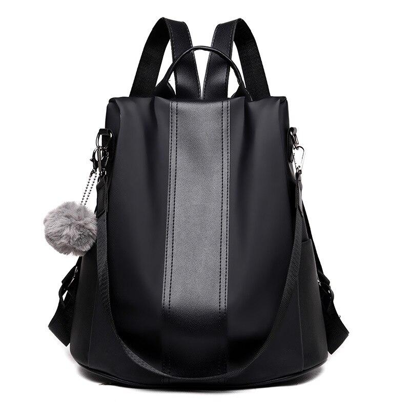 Image 3 - Waterproof Casual Women Backpack Purse Anti theft Rucksack Mochila Feminina Lightweight School Shoulder Bag for Teenagers Girls-in Backpacks from Luggage & Bags