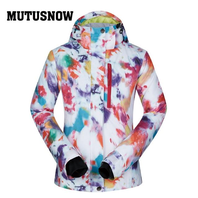 Snowboard Women Jacket Brands 2018 High Quality Ski Winter Windproof  Waterproof Warmth Female Coat Snow Winter 1f4a3b7dbb