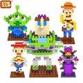 Figuras de Ação Toy Story LOZ Diamante blocos de construção de Brinquedos Educativos para Crianças presentes de Natal brinquedos para crianças Para crianças 8 +