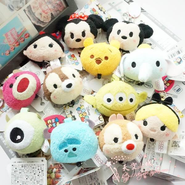 TSUM Three Little Pigs Big Bad Wolf Mini Cute Plush Toys Phone Screen Cleaner Wiper Bag Hanger Christmas Gift In Dolls From Hobbies On