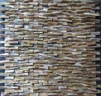 Wholesale 3D mother of pearl tile ,Decorative shell mosaics stiffened backsplash tile kitchen bathroom wall designs ideas tile