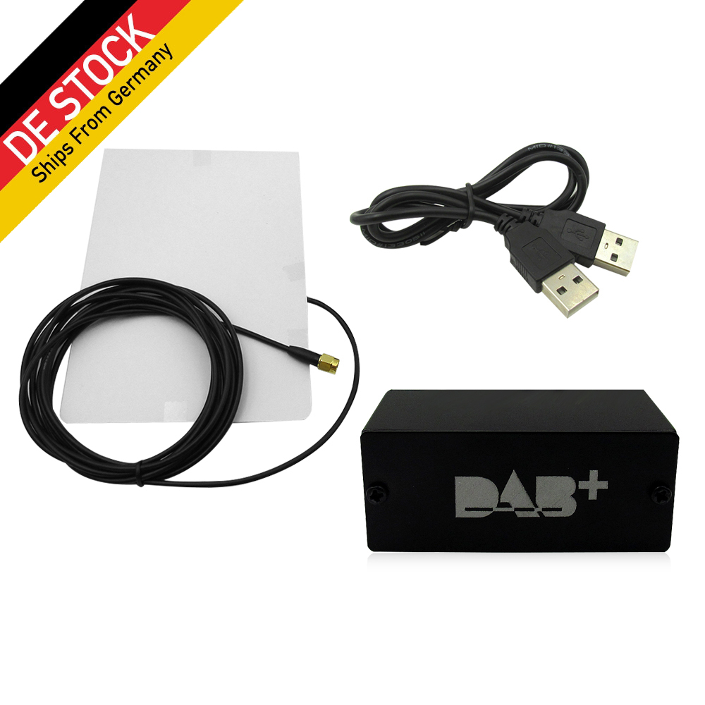 Europe Universal DAB+USB Dongle With Antenna For After Market Android Car DVD Player DAB Antenna for Android DAB 5.1 6.0 7 .1.1