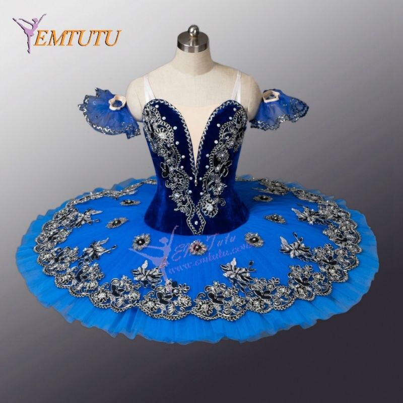 Adult Classical Professional Ballet Tutu Le Corsaire Blue Bird Performance Tutus Competition Ballet Costumes Women