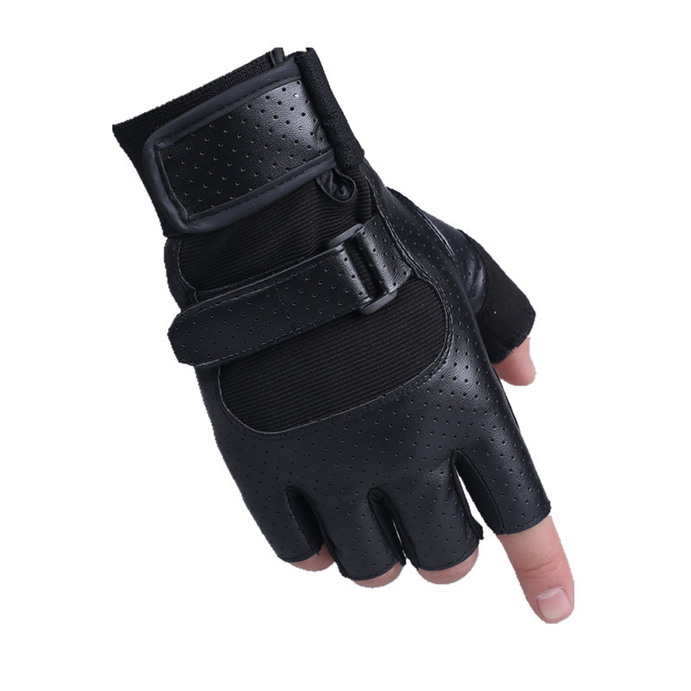KUYOMENS Mountain Bike Glove Sports semi-finger breathable wear-resistant Exercise Training Gym Gloves
