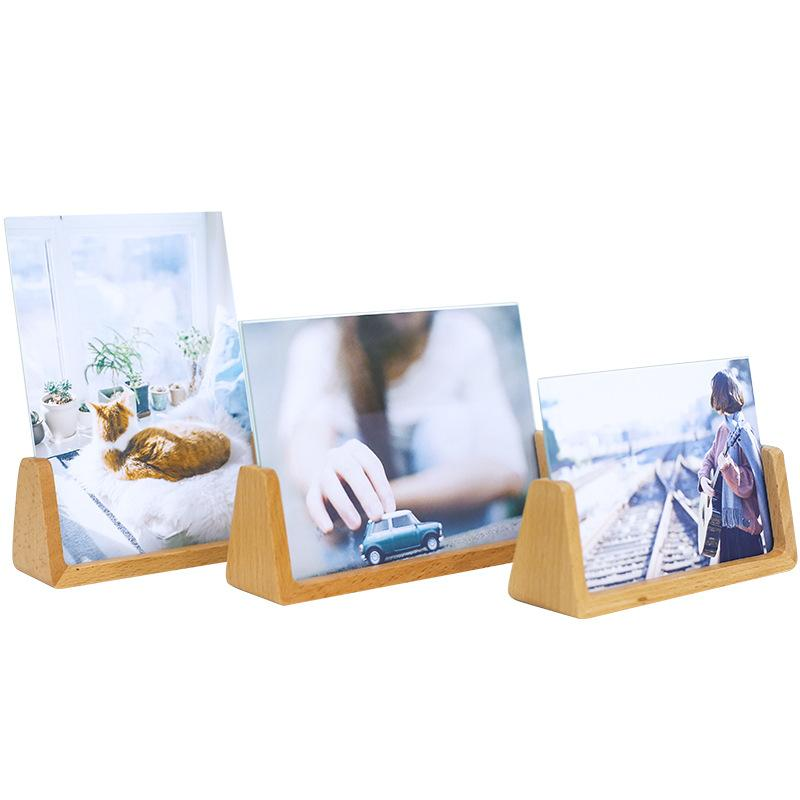 Modern Wooden Picture Frame Wall Decoration Painting Display Box DIY Handmade Photo Home Decor