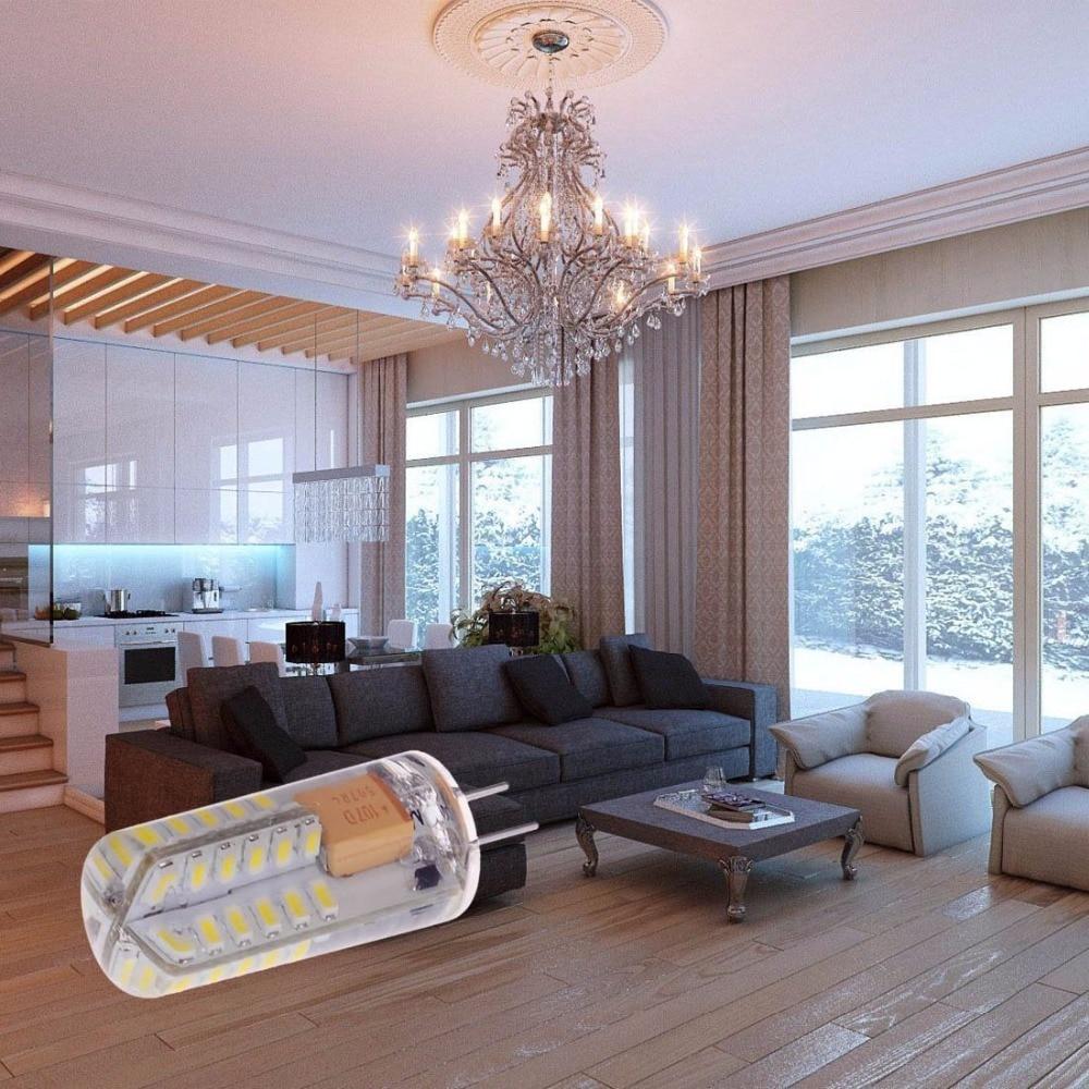 Купить с кэшбэком 10xG4 LED Bulb 3.5W 48*3014 SMD LED Lamp,Cool White/Warm White 35W Halogen Bulb Equivalent,300 LM Bundles,DC 12V Energy Class