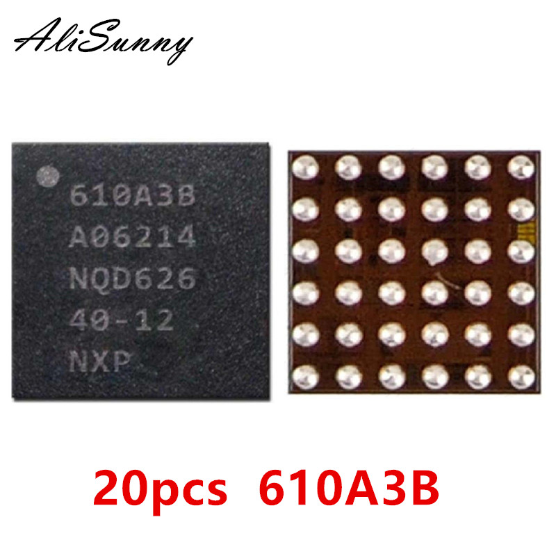 AliSunny 20pcs 610A3B for iPhone 7 Plus 7P 7G USB U2 Charging ic Charger ic Chip