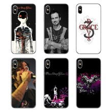 Silicone Phone Cases Covers For LG G7 Q6 Q7 Q8 Q9 V30 X Power 2 3 For OnePlus 3T 5T 6T Three Days Grace TDG 3DG HUMAN Album Band(China)