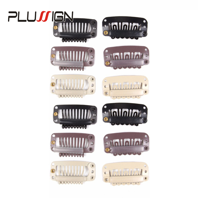 Plussign Wig Combs Hair Clips For Weave Extensions 10 Pcslot Uwire
