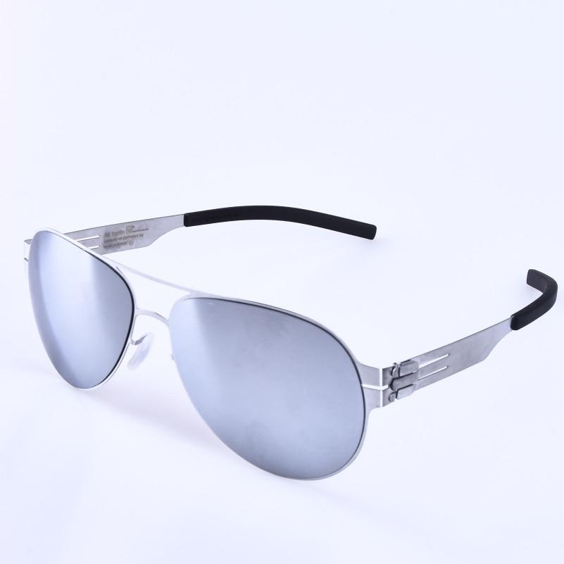 Pilot Stainless Steel Eyewear multi-color lens Sunglasses for men and women Driving Sunglass travling