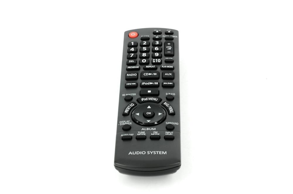 Remote Control Commander N2QAYB000522 for Panasonic Stereo Systems SC-HC30 SA-HC30 iron commander экскаватор металл 234 дет 816b 136 г44213