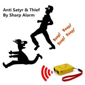 Image 3 - Repelente ultrasónico de perros, entrenador de Control antiladridos, recargable, para dejar de ladrar, disuasorio con linterna LED, modo de alarma
