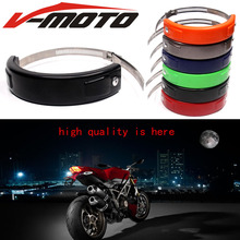 Hot sell For BMW F800GS F800 GS 2013 – 2017 2016 Accessories Silencer/Round Oval Exhaust Protector Can Cover