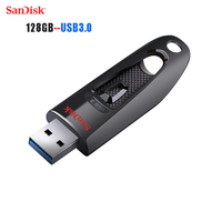 SanDisk Original Flash Disk Z48 USB Flash Drive USB 3.0 Memory Stick 100MB/S read Speed mini Pen Drives 128gb