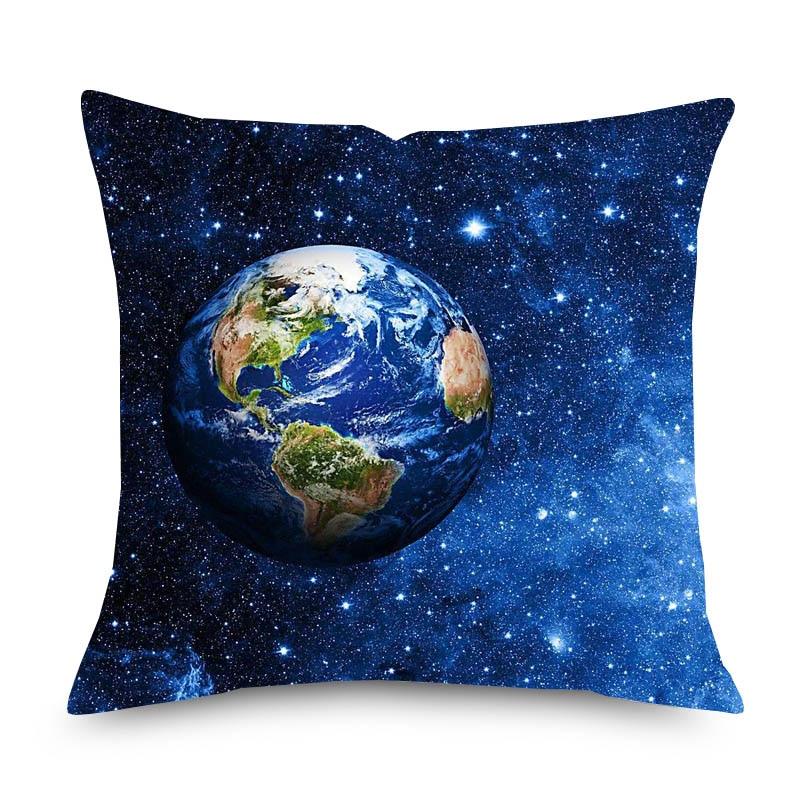 the earth venus mars cushion covers cosmos planet beige