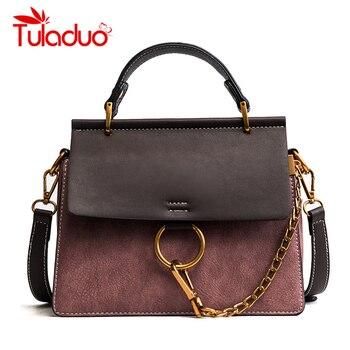 Tuladuo Frauen Messenger Taschen Neue Luxus Marke Damen Schulter Taschen Hohe Qualität Designer Kette Handtaschen Klappe Umhängetaschen