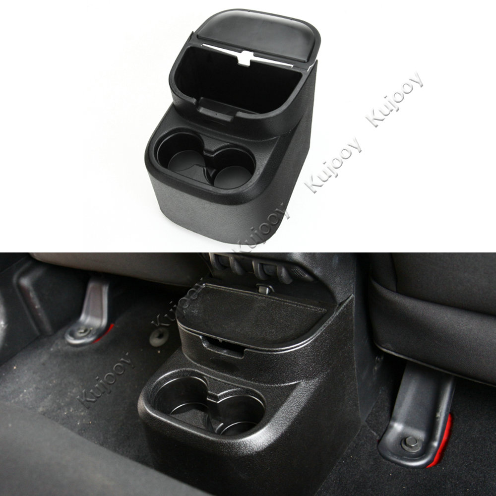 Buy Black Abs Rear Water Cup Holder Storage Box Jeep Wrangler Jk Under Seat Pocket Tray Organizer Case For 4 Doors 2011 2016 Car Styling From Reliable