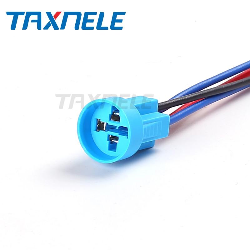 Mintice/™ Black Case 16mm Green Power Symbol Angle Eye LED 12V Push Button Metal Toggle Switch Socket Plug Wire Car Vehicle