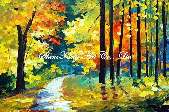 handmade modern oil painting font b knife b font oil painting K106