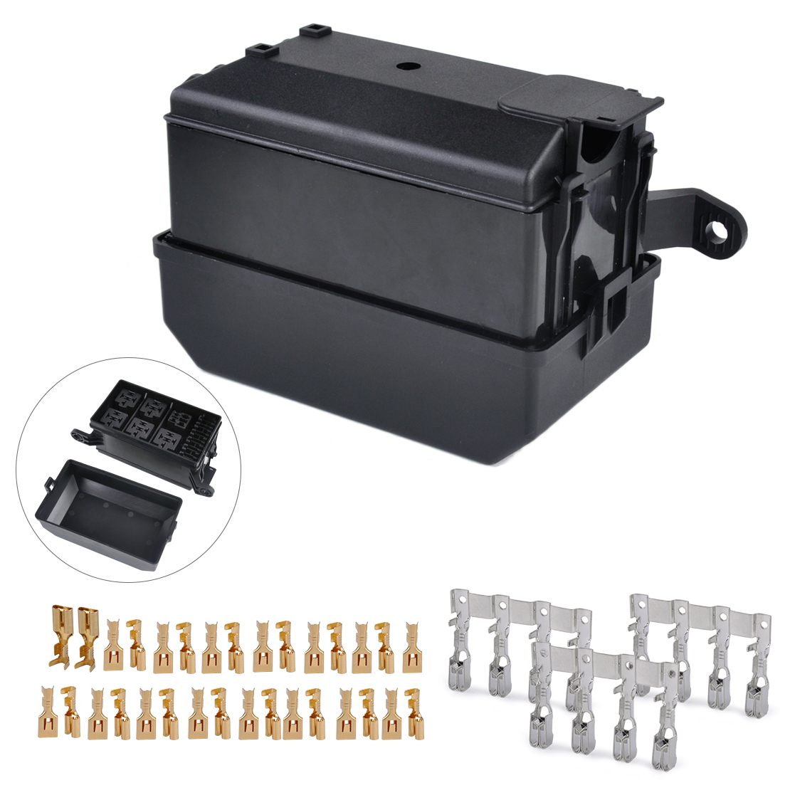 Citall Car Auto Fuse Relay Holder Box 6 Socket 5 Road The Nacelle 04 Kia Rio Vehicle Insurance For Ford