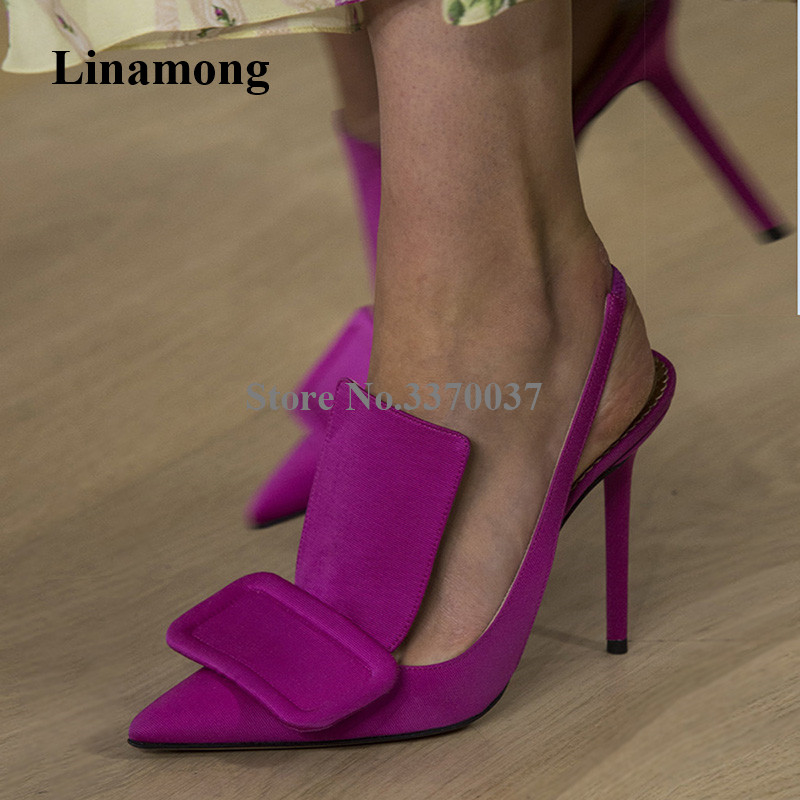 2019 New Fashion Women Pointed Toe Suede Leather Stiletto Heel Buckle Pumps Cut-out Slip-on Purple Yellow High Heels Dress2019 New Fashion Women Pointed Toe Suede Leather Stiletto Heel Buckle Pumps Cut-out Slip-on Purple Yellow High Heels Dress