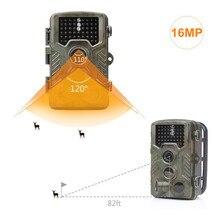 Caça Câmera 16MP 0.6 S Gatilho HD Digital Infrared Camera Trail Night vision câmera selvagem foto armadilhas 8 meses de espera