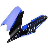 YZF R3 R25 CNC Aluminium Alloy Rear Mudguard Motorcycle Fender Rear Tire Hugger Fender with Chain Cover for Yamaha YZF R3 MT 03