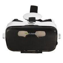 ELEGIANT 3D виртуальной реальности Очки гарнитура крепления головы фильмы для 4 до 6 дюймов Мобильные телефоны + Bluetooth пульт дистанционного управления