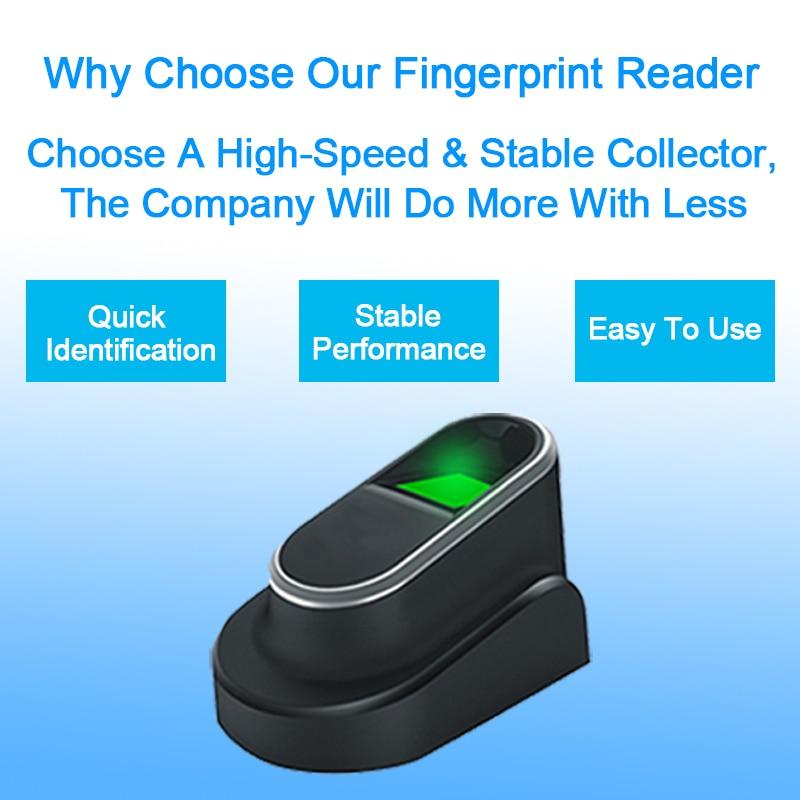 цена на OULET USB Biometric Fingerprint Reader Sensor Scanner Fingerprint Module With SDK Windows Linux For PC Fingerprint Readers