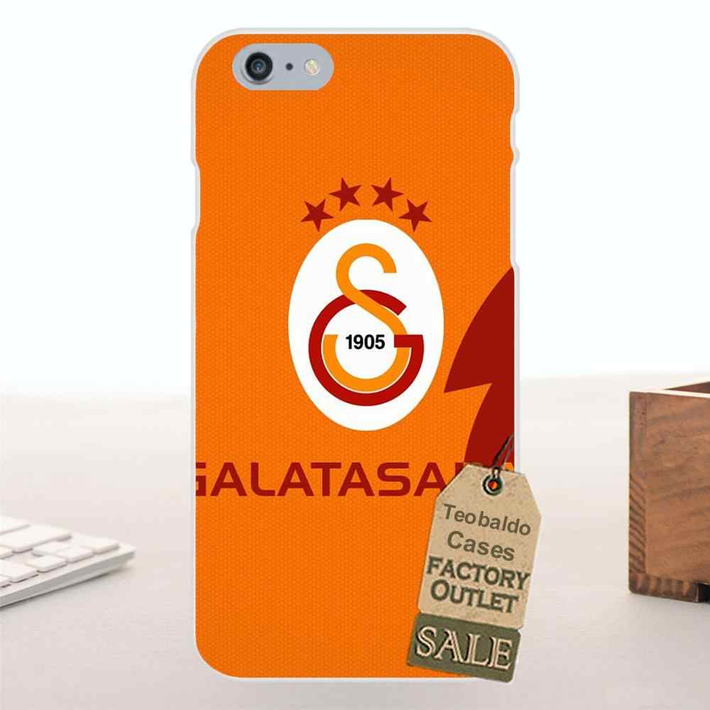 Tpwxnx Galatasaray Sk Logo Voor Galaxy Alpha Core Prime Opmerking 2 3 4 5 S3 S4 S5 S6 S7 S8 mini rand Plus Zachte Mode Mobiele Case