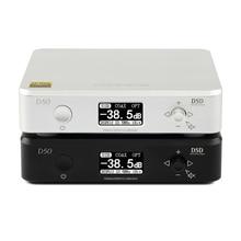 TOPPING D50 DAC USB MINI HIFI decodificación de AUDIO personalizado Thesycon conductor ES9038Q2M DSD512/PCM768 USB/OPT/coaxial entrada de XMOS