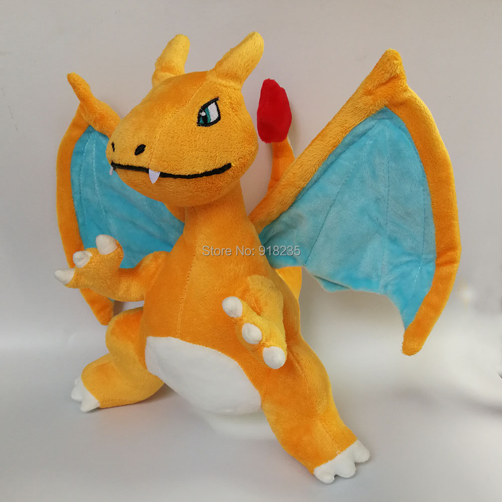 5 Lot Charizard 10 Plush Doll Anime Cartoon For Kids Soft Party Gifts Stuffed Toys