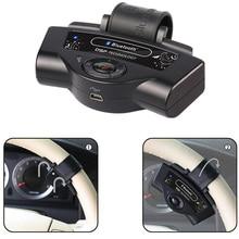 Bluetooth автомобиля Наборы встроенный аккумулятор MP3 плеер громкая руль Портативный Поддержка A2DP автомобиля Зарядное устройство Бесплатная доставка